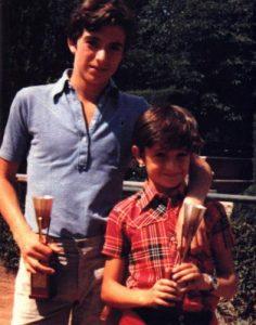 Unos jovencitos José y Nacho